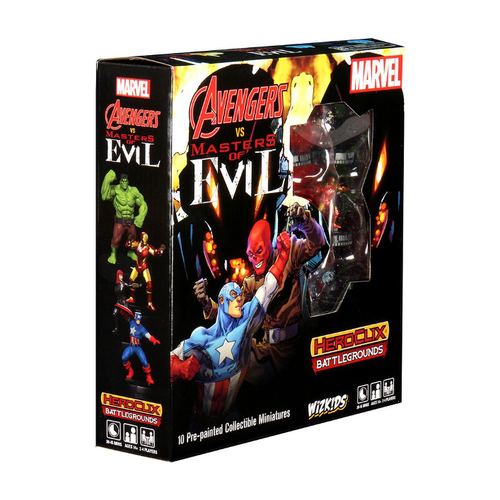 HeroClix Battlegrounds: Avengers VS Masters Of Evil
