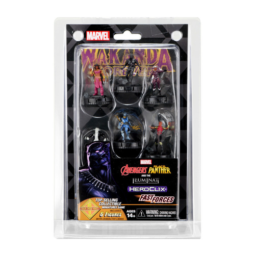HeroClix Avengers: Black Panther and the Illuminati Fast Forces
