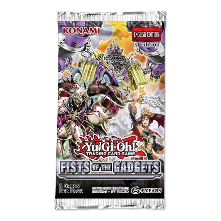 Yu-Gi-Oh Fists of the Gadgets