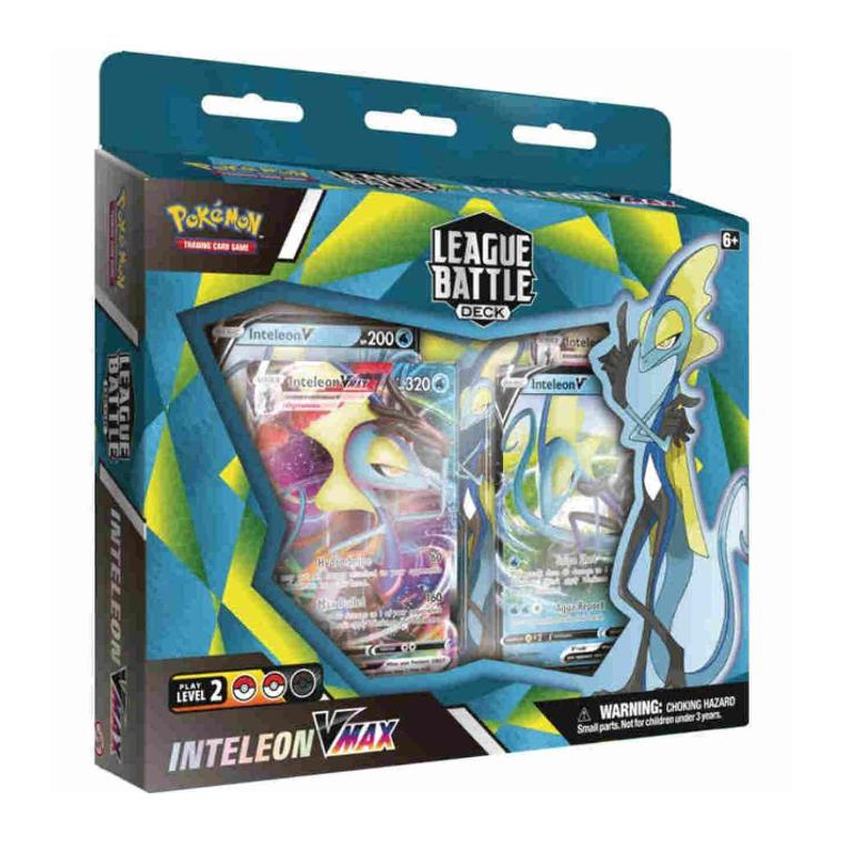 Pokemon TCG: Inteleon VMax League Battle Deck