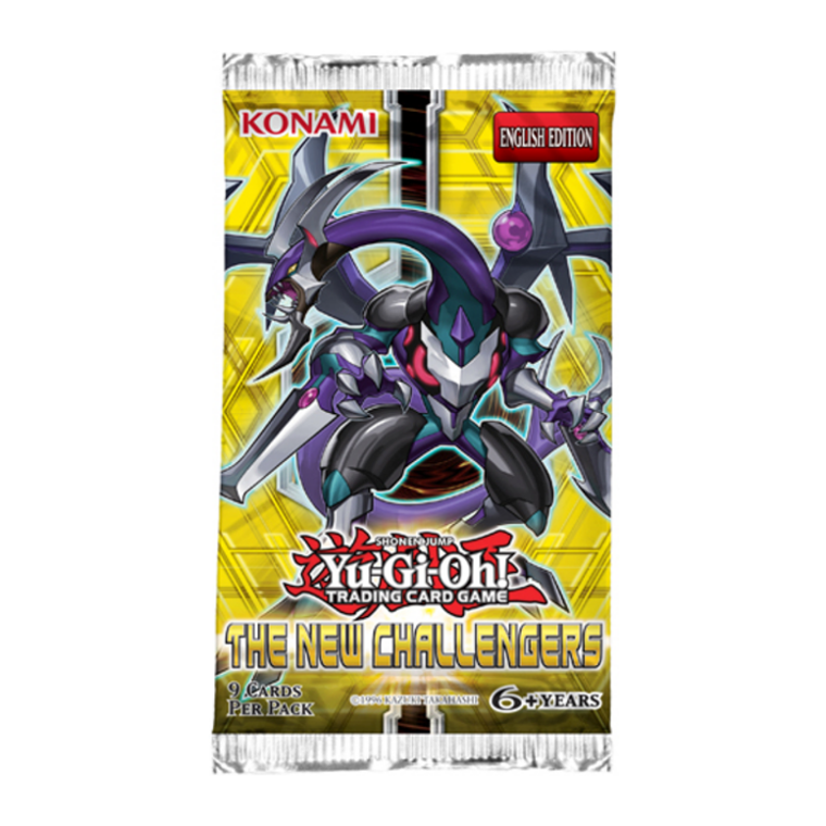 Yu-Gi-Oh The New Challengers Booster Pack