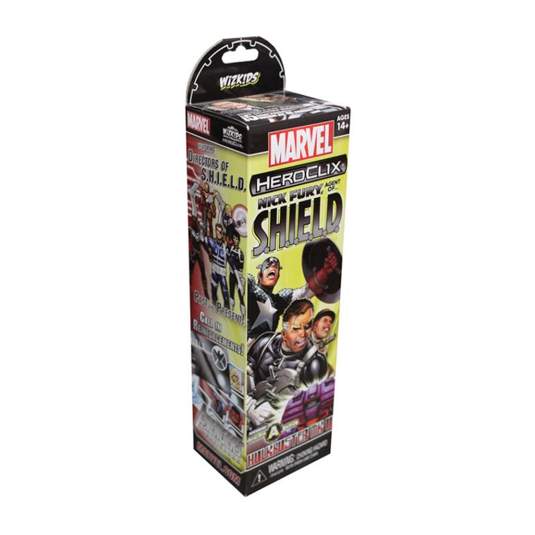 HeroClix Nick Fury Agent of S.H.I.E.L.D.