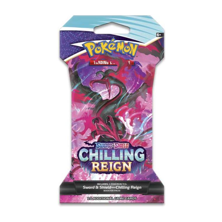 Pokemon TCG: Chilling Reign Sleeved Booster Pack