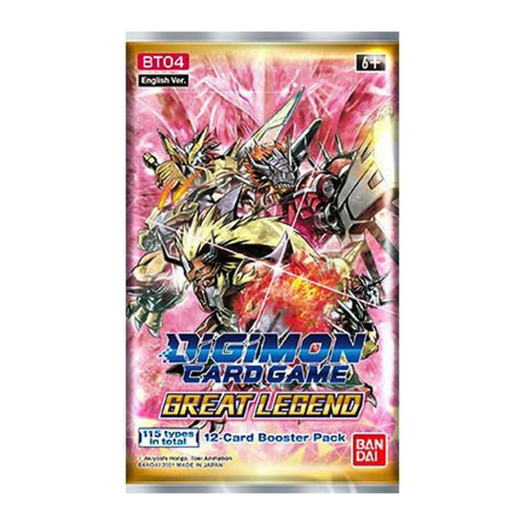 Digimon TCG: Great Legend Booster Pack