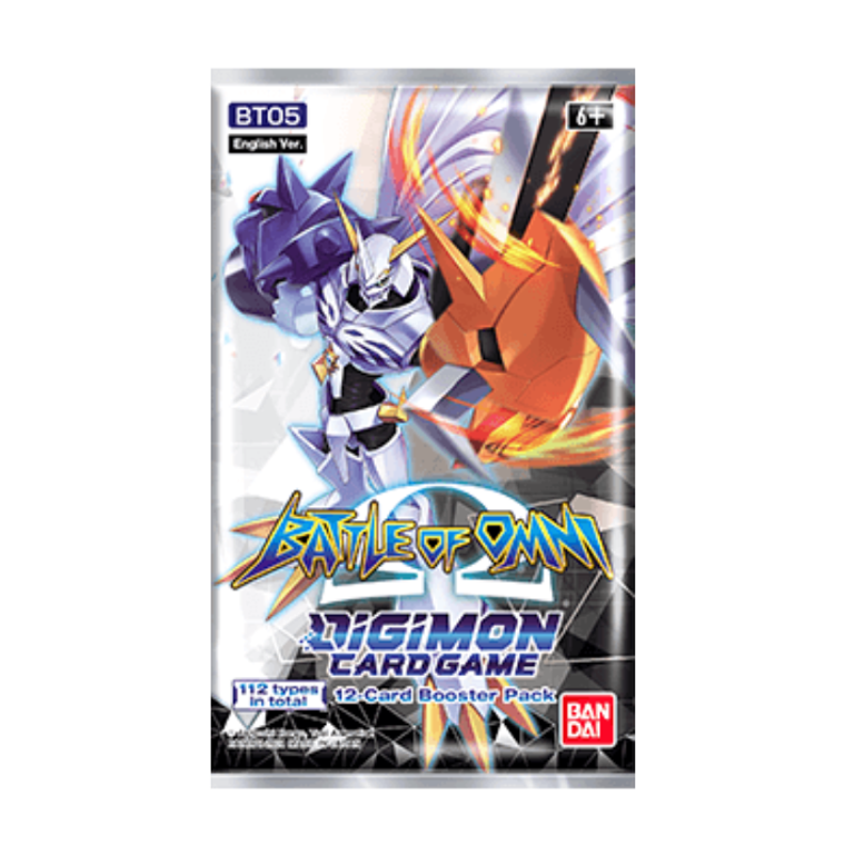 Digimon TCG: Battle of Omni Booster Pack