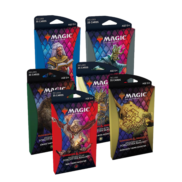 Magic: The Gathering Adventures in the Forgotten Realms Theme Boosters