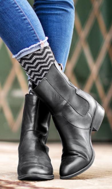 An everyday sock with ultra-stretchy core-spun yarns that make Core-Spun socks easier to don & more comfortable to wear. Improve circulation, prevent mild swelling, and relieve tired, achy legs and feet!