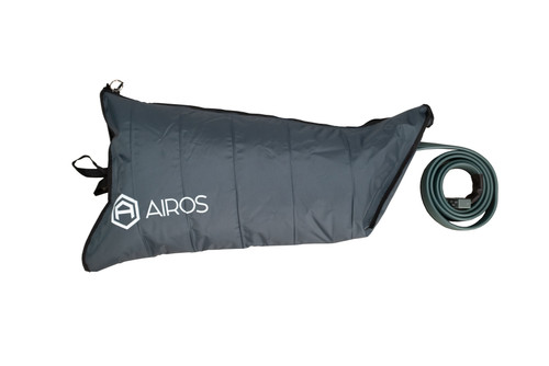 AIROS Medical's 6-chamber leg sleeves are utilized with the AIROS 6 Sequential Compression Devices. From durable material to precise sizing, our garments are carefully designed to support patients with various needs. By order of a physician.