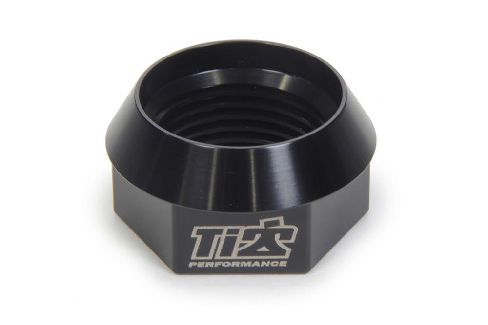 600 RH Axle Nut 1.75in 27 Spline Black TIP3949 Sprint Car Ti22 Performance