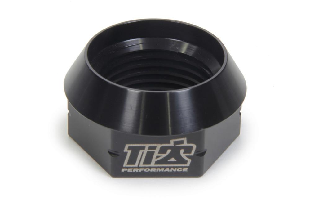 600 LH Axle Nut 1.75in 27 Spline Black TIP3950 Sprint Car Ti22 Performance