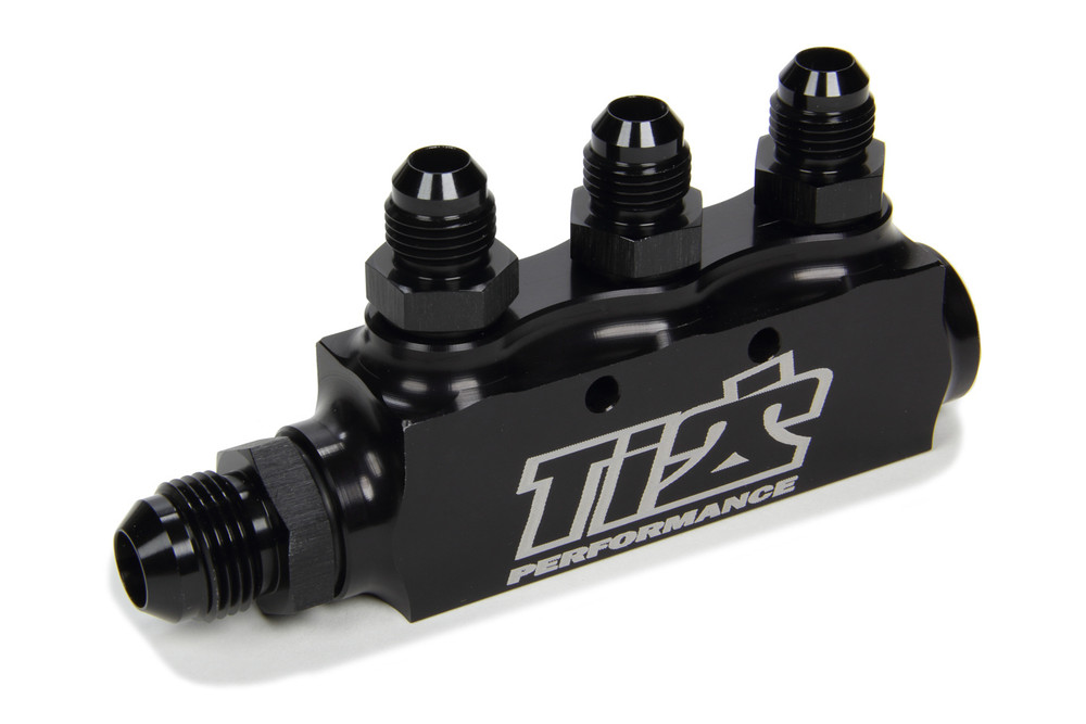 Fuel Return Block w/ Fittings TIP5500 Sprint Car Ti22 Performance