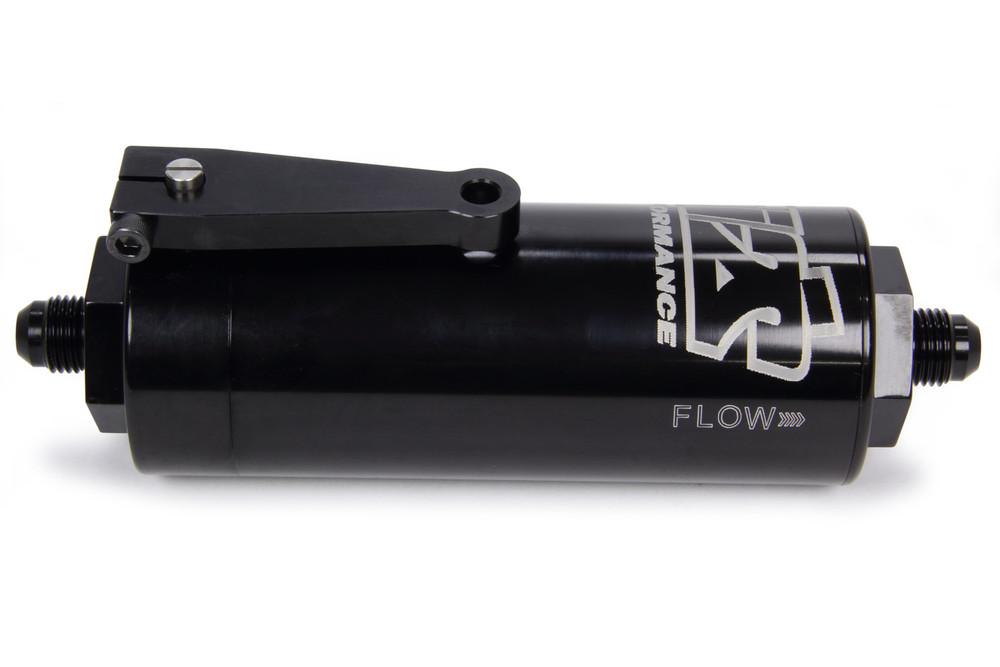 TIP5506 6AN Fuel Filter 100 Micron With Shut Off SprintCar Ti22 Performance