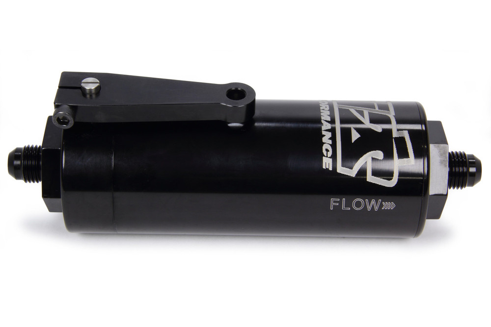 TIP5506 6AN Fuel Filter 100 Micron With Shut Off Sprint Car Ti22 Performance