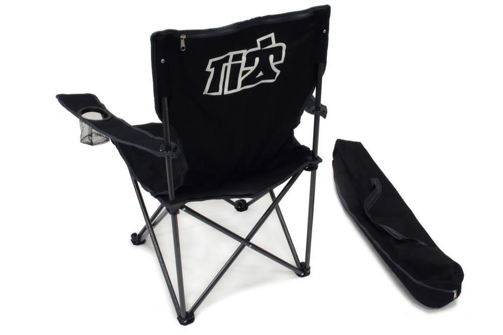 TIP9240 Black Canvas Folding Chair With Bag Sprint Car Ti22 Performance