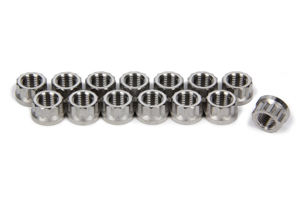 TIP1124 3/8-24 Flanged Header Nuts Sprint Car Ti22 Performance