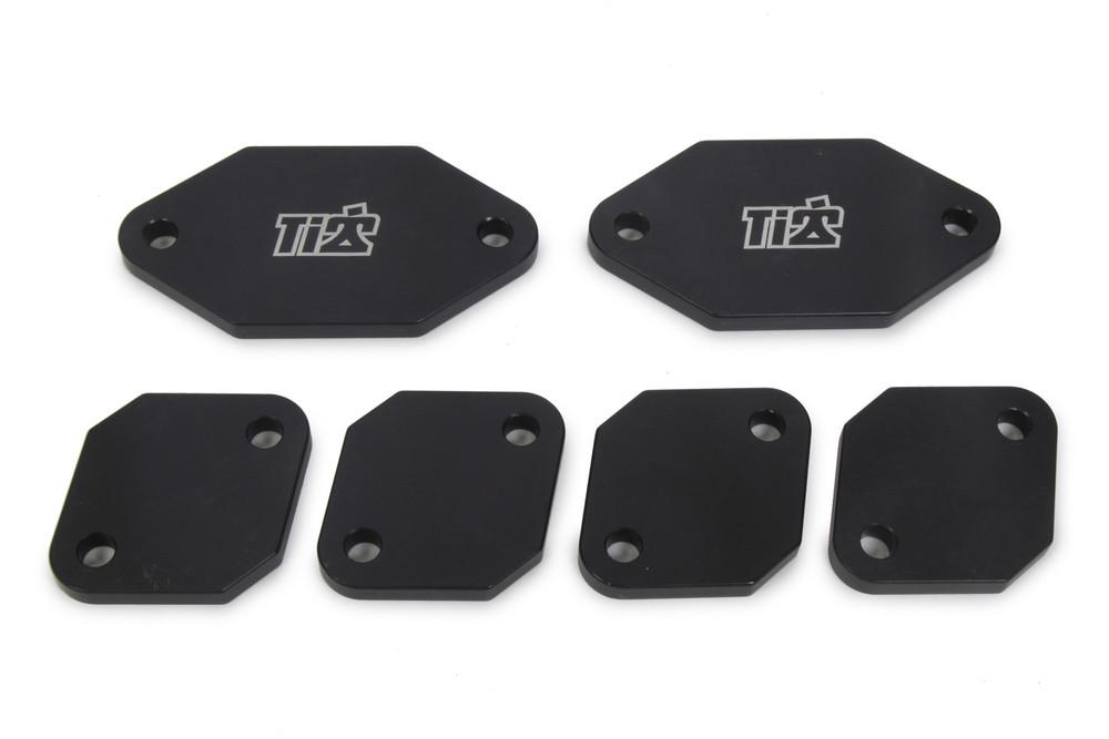 TIP5124 Exhaust Port Blockoffs Aluminum Standard Port