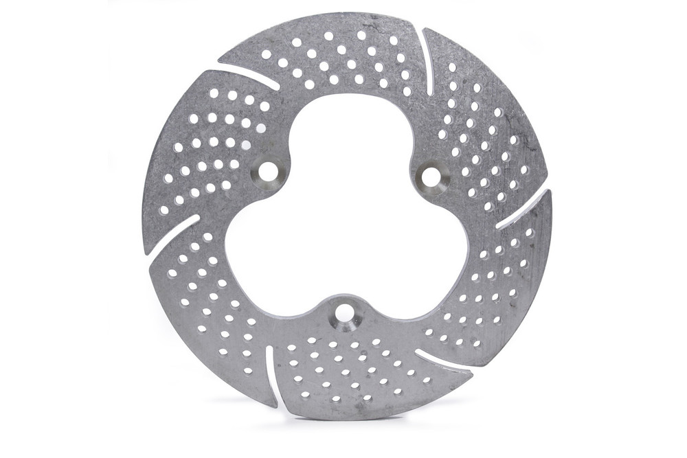 TIP4060 Left Front Rotor 10in 3 Lug Aluminum