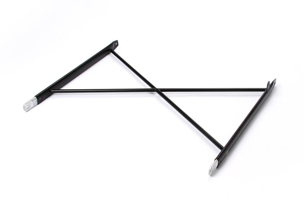 Aero Wing Tree Assembly Black 16in Steel TIP6004 SprintCar Ti22 Performance