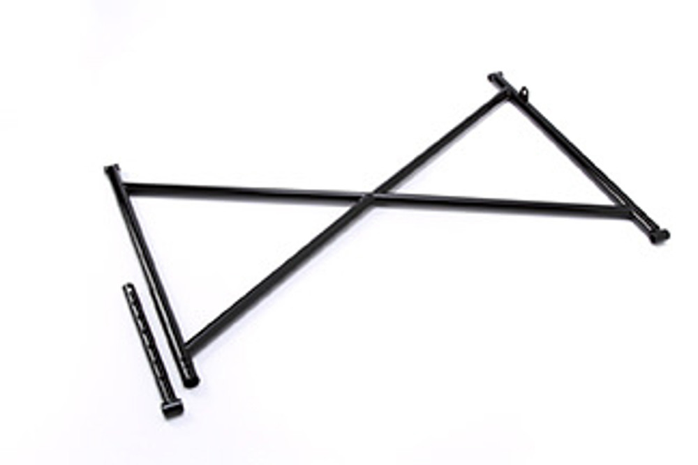Top Wing Tree Assembly Black 16in Steel TIP6000 Sprint Car Ti22 Performance