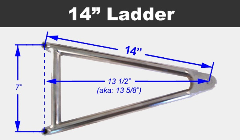 Jacobs Ladder 14 Titanium With Hardware TIP2437 SprintCar Ti22 Performance