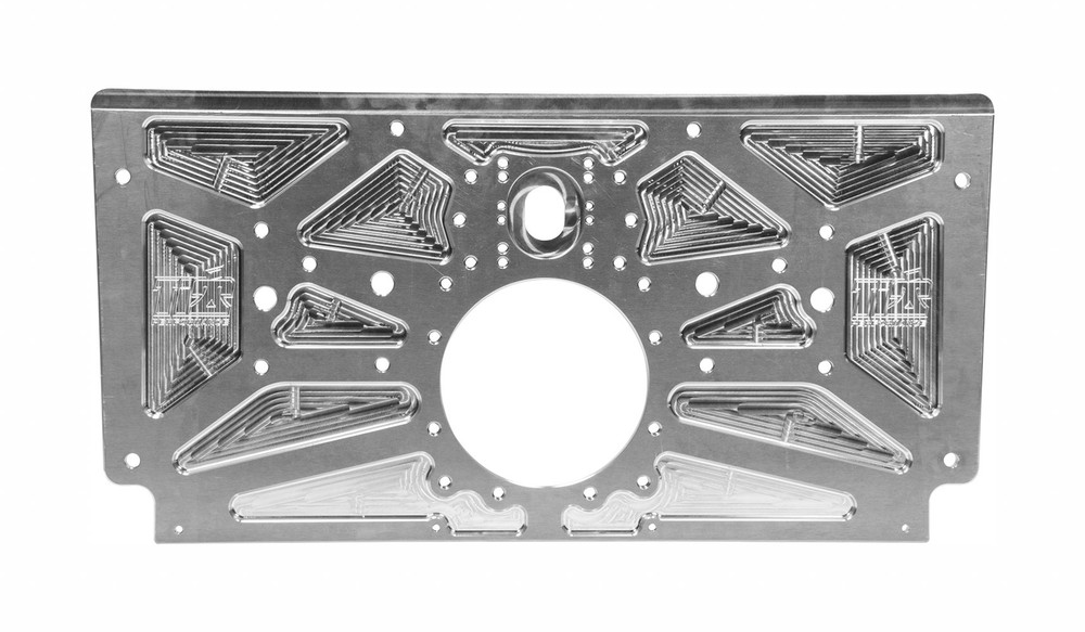 TIP5002 Sprint Rear Motor Plate Natural Ti22 Performance