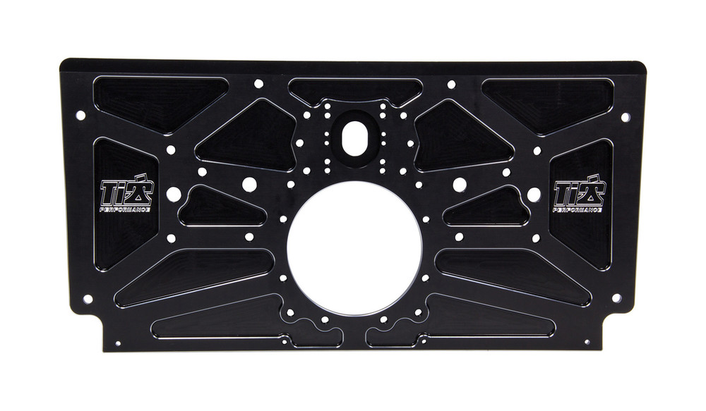 Sprint Rear Motor Plate Black TIP5004 SprintCar Ti22 Performance
