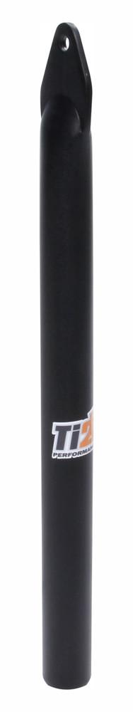 Front Wing Post Straight Black Alum TIP6127 Sprint Car Ti22 Performance