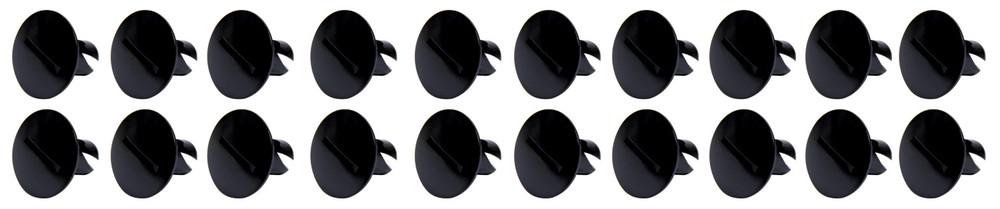 Large Head Dzus Buttons .500 Long 10 Pack Black TIP8110 Sprint Car Ti22 Performance