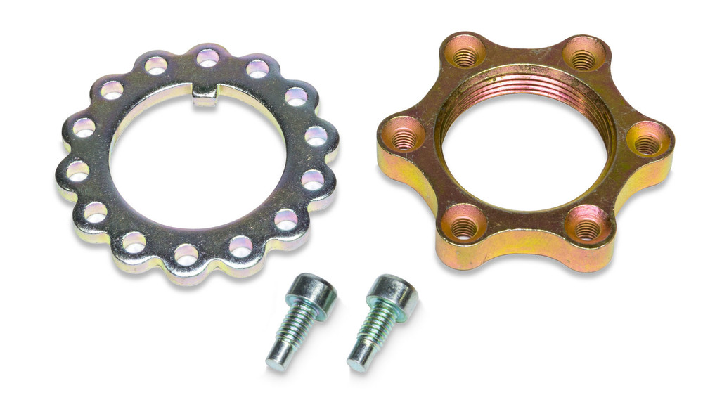 Steel Lock Nut Kit For Spindles Single TIP2856 Sprint Car Ti22 Performance