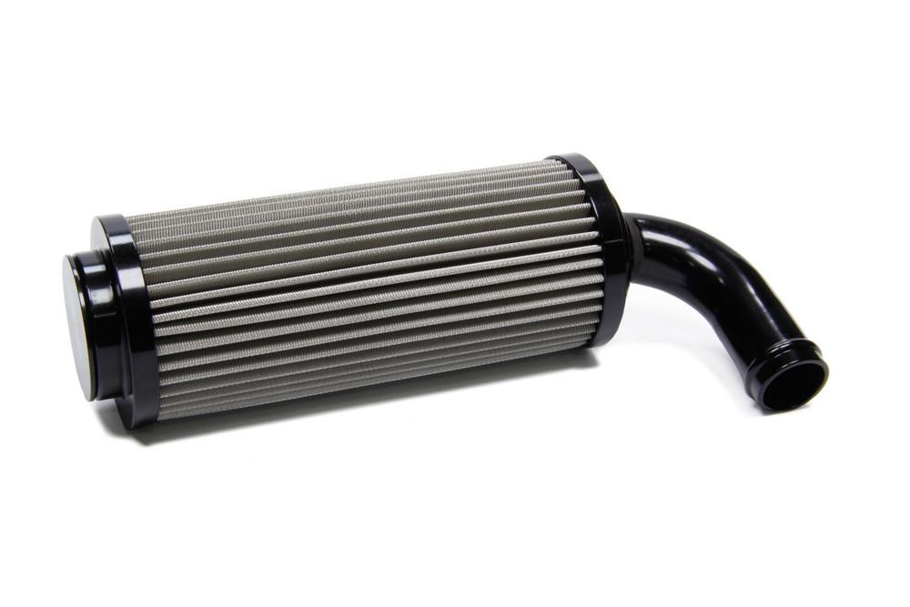 In Tank Filter 60 Micron 90 Degree End Push On TIP5142 Sprint Car Ti22 Performance