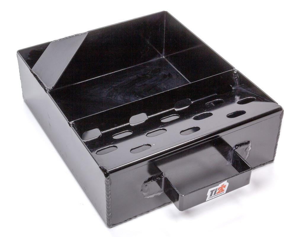 Drain Pan For Quick Change Gears Black TIP8520 Sprint Car Ti22 Performance