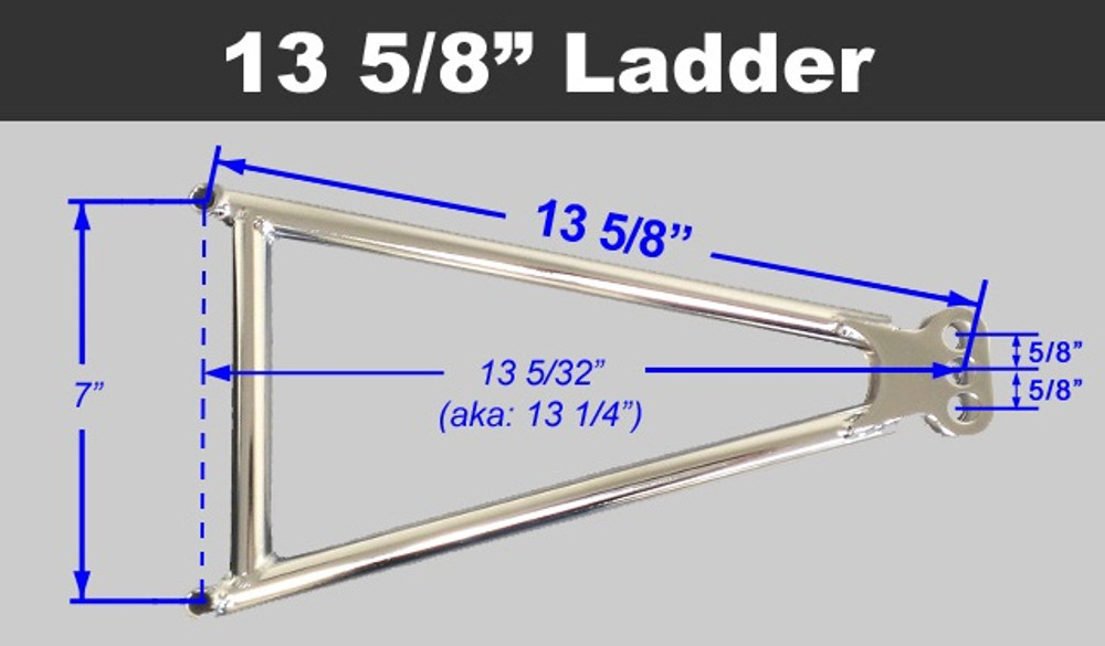 Jacobs Ladder 13-5/8 ADJ Chromoly w Ti Hardware TIP2446 SprintCar Ti22 Performance
