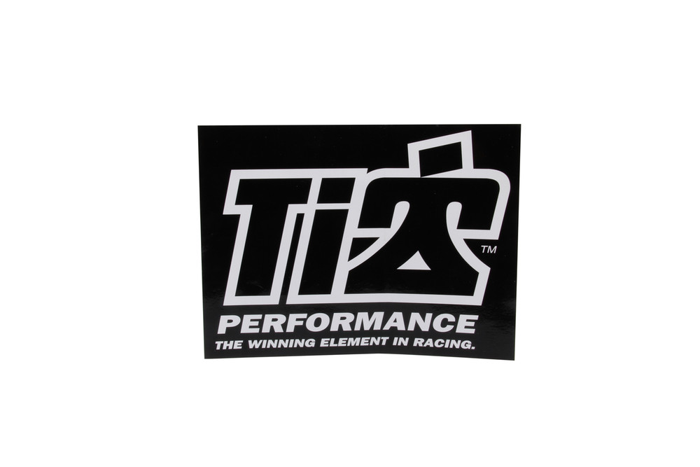 Ti22 Decal 6x8 Black TIP0051 Sprint Car Ti22 Performance