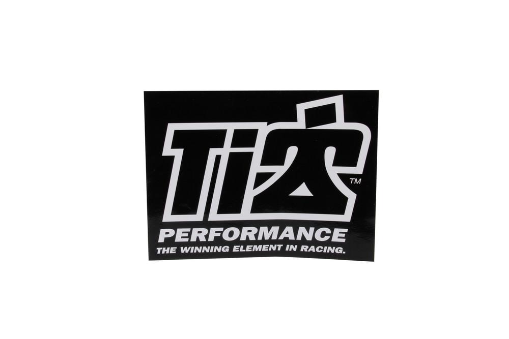 Ti22 Decal 6x8 Black TIP0051 Sprint Car Ti22 Performance