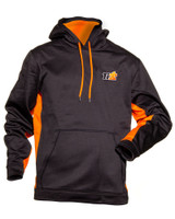 Sport-Tek Black Orange Ti22 Hoodie Small TIP9210S Sprint Car Ti22 Performance