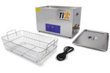TIP8582 Ultrasonic Cleaner with 19in Stainless Basket Ti22 Performance