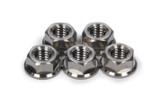 TIP1228 Titanium Front Hub Flange Nuts 5pk Ti22 Performance