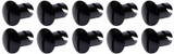 Oval Head Dzus Buttons .500 Long 10 Pack Black TIP8102 Sprint Car Ti22 Performance