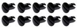 Oval Head Dzus Buttons .550 Long 10 Pack Black TIP8106 Sprint Car Ti22 Performance