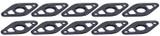 Body Saver Plates 10pk Black TIP8142 Sprint Car Ti22 Performance