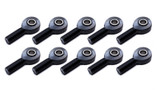 Rod End Alum RH Male Blk 1/2ID x 5/8 Thread 10pk TIP8250-10 Sprint Car Ti22 Performance