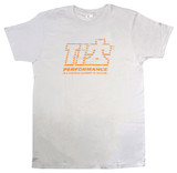 TI22 T-shirt Gray Medium TIP9120M Sprint Car Ti22 Performance