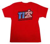 TI22 T-shirt Red Medium TIP9130M Sprint Car Ti22 Performance