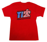 TI22 T-shirt Red Small TIP9130S Sprint Car Ti22 Performance