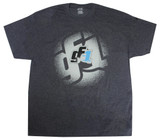 GF1 T-shirt Gray Medium TIP9251M Sprint Car Ti22 Performance