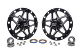 Direct Mount Front Hubs Forged Black TIP2800 Sprint Car Ti22 Performance