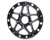 Direct Mount Front Hub Right Side Only Black TIP2810 Sprint Car Ti22 Performance