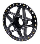Splined Wheel Center Black TIP2890 Sprint Car Ti22 Performance