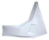 Left Arm Guard LH White For Saftey Cage TIP8314 Sprint Car Ti22 Performance