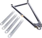 600 Jacobs Ladder 10.25in Chrome TIP3960 Sprint Car Ti22 Performance
